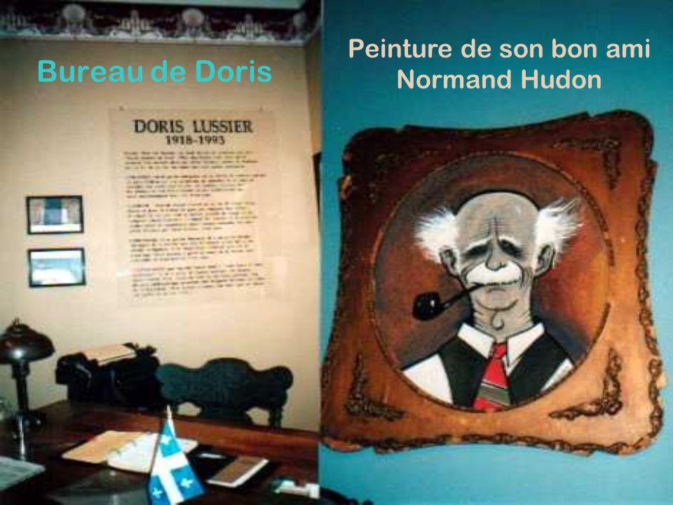Bureau de Doris Peinture de son bon ami Normand Hudon