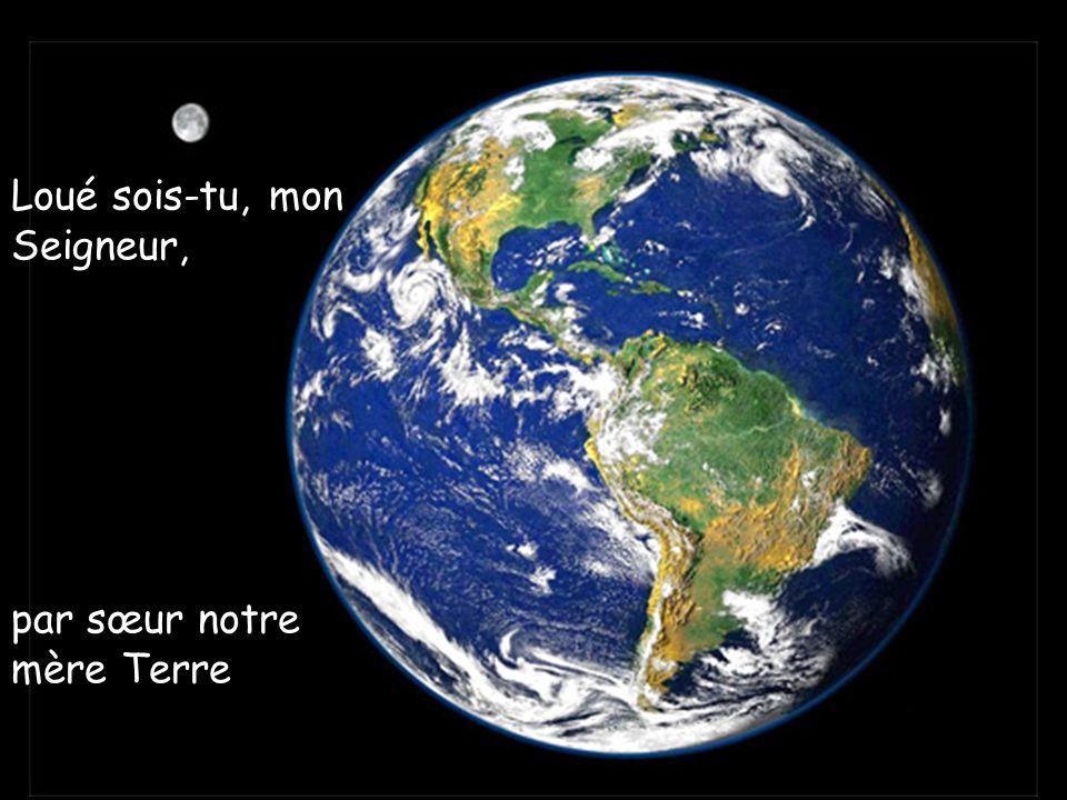 Loué sois-tu, mon Seigneur, par sœur notre mère Terre