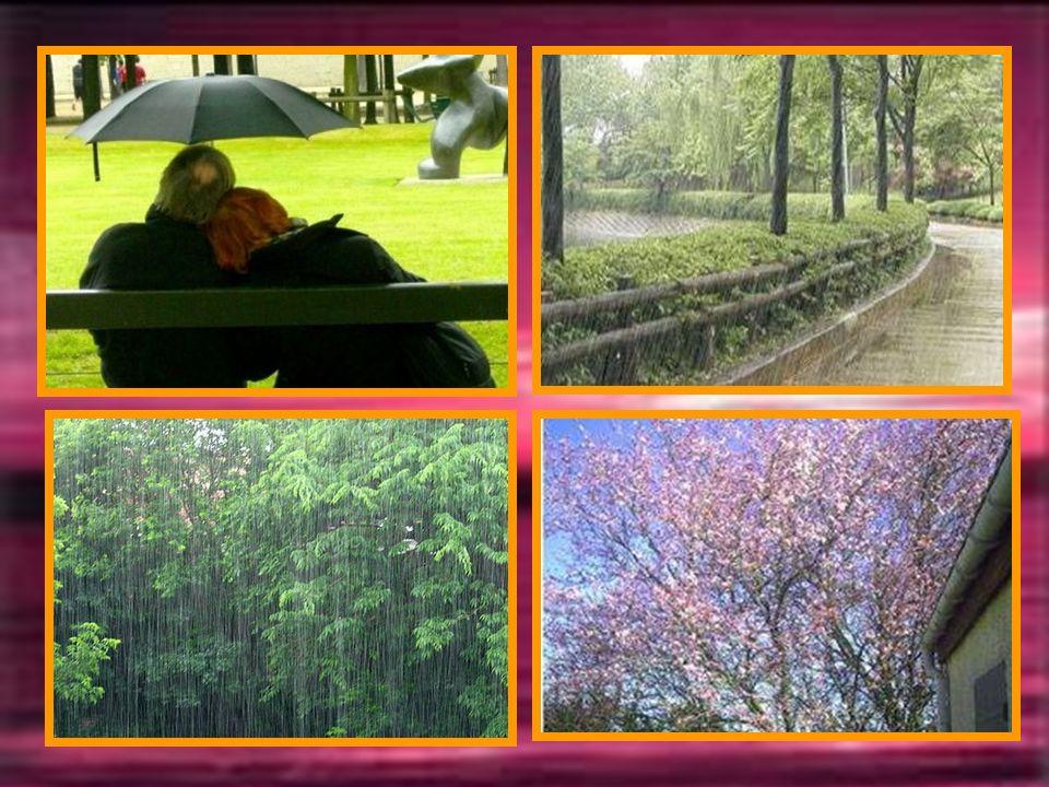 AVRIL La pluie a son mois, cest Avril, la sève se libère faisant séveiller la nature