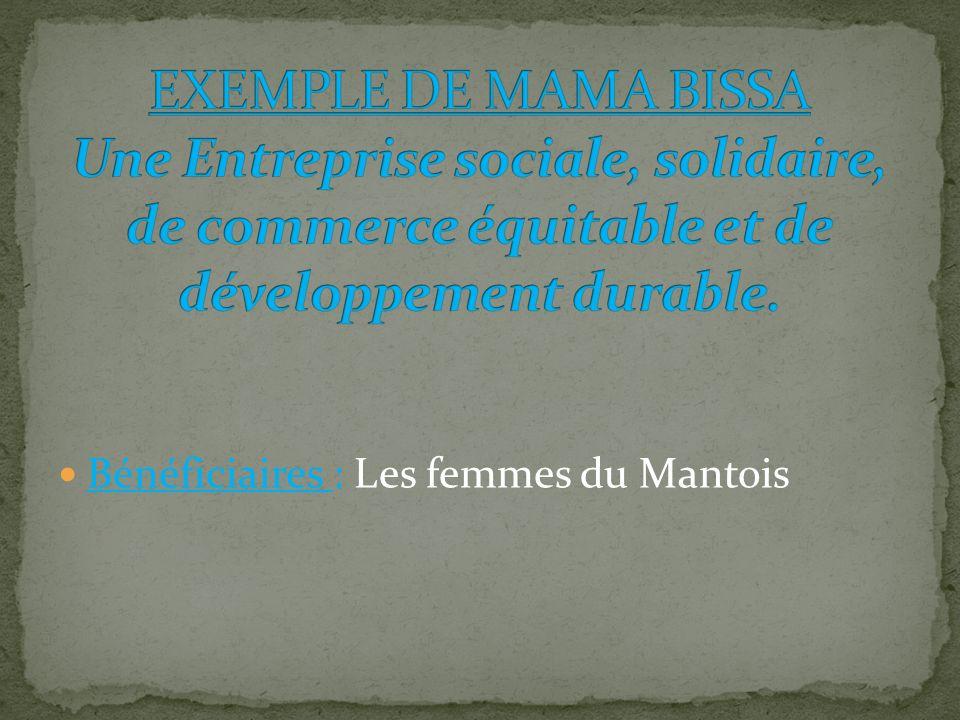 Bénéficiaires : Les femmes du Mantois