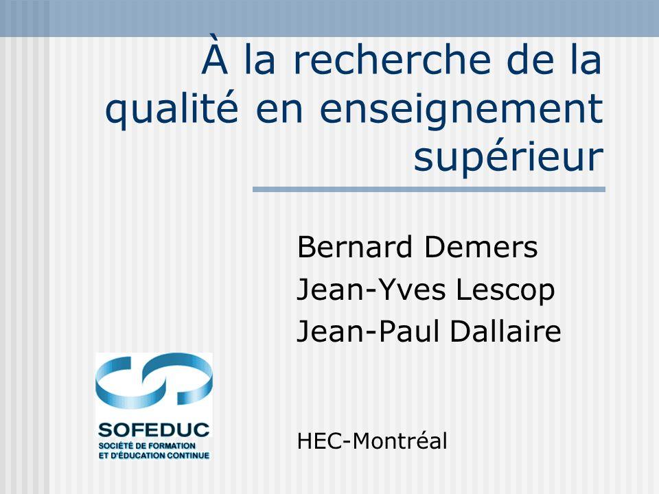 03-10-2002SOFEDUC33 Pour plus d informations Jean-Yves Lescop Bernard Demers Jean-Paul Dallaire www.teluq.uquebec.ca jlescop@teluq.uquebec.ca MERCI ET À LA PROCHAINE