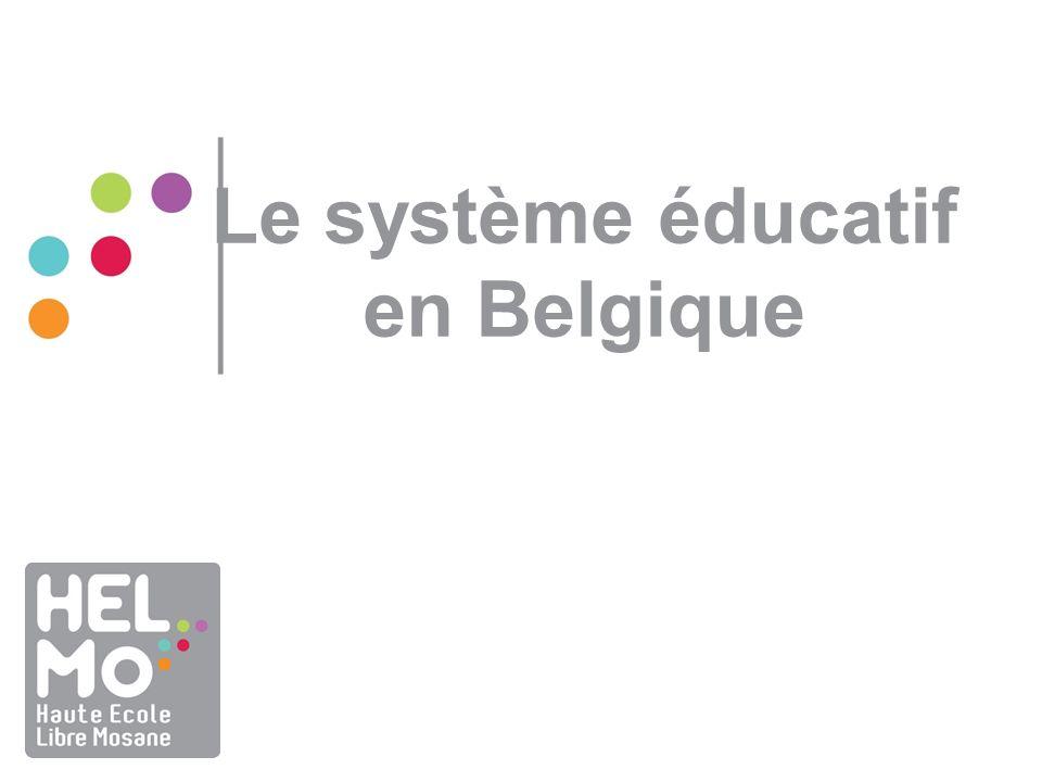 Le système éducatif en Belgique