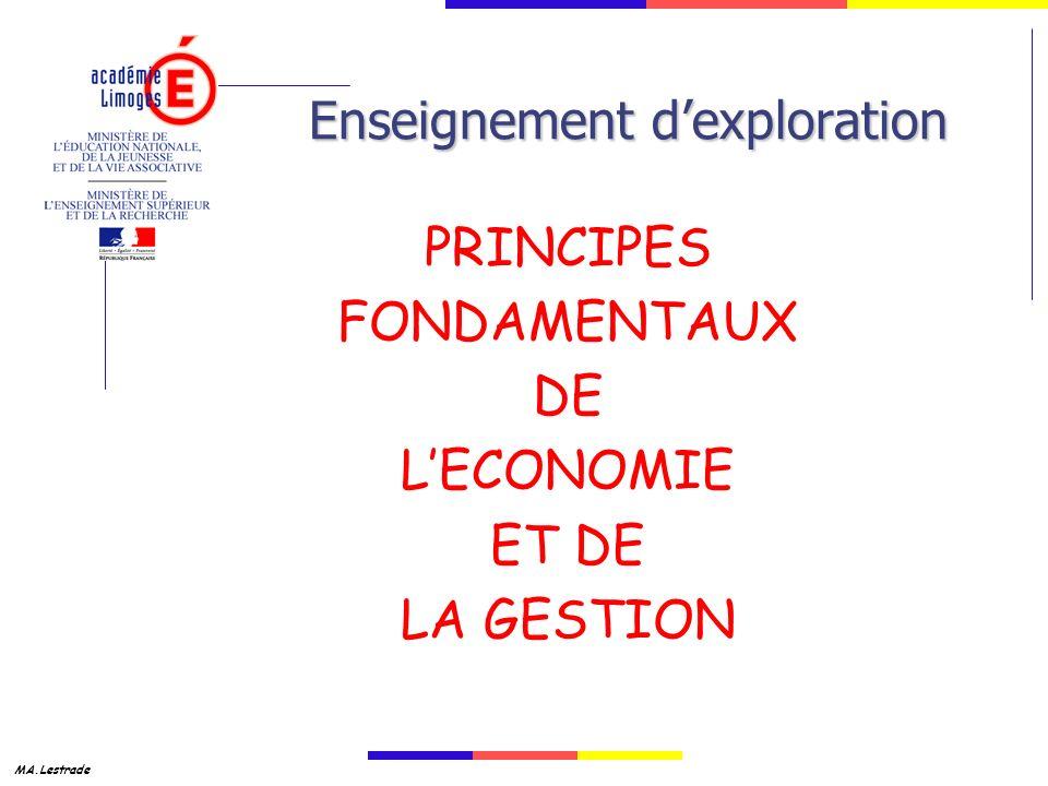 MA.Lestrade Enseignement dexploration PRINCIPES FONDAMENTAUX DE LECONOMIE ET DE LA GESTION