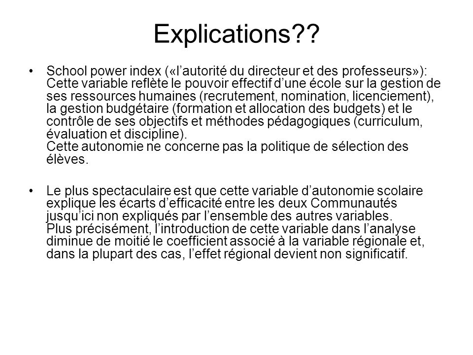 Explications .