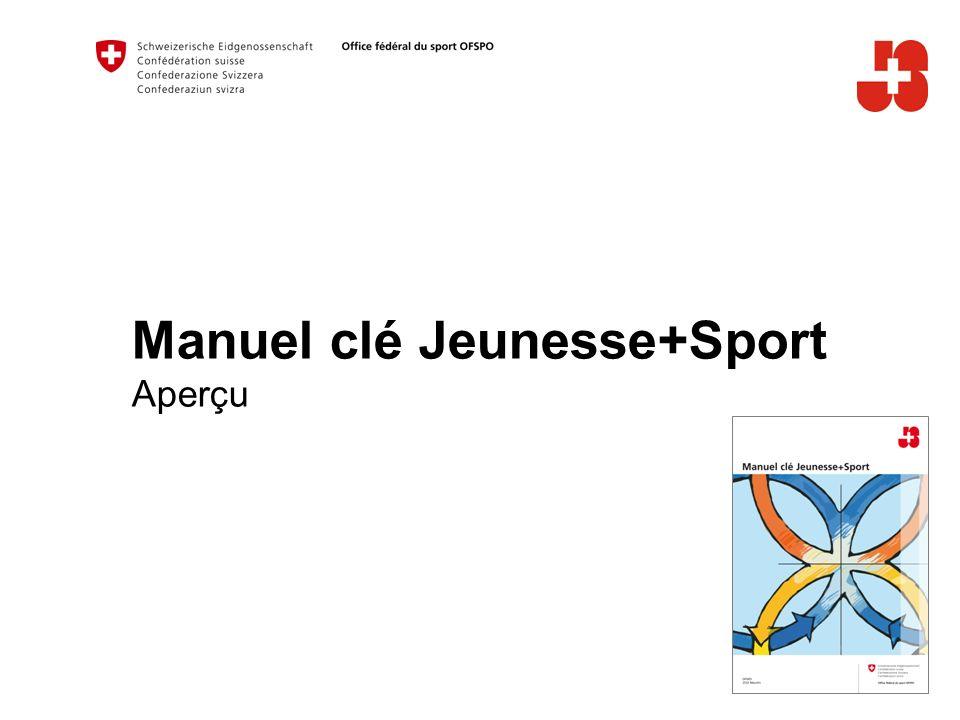 Manuel clé Jeunesse+Sport Aperçu
