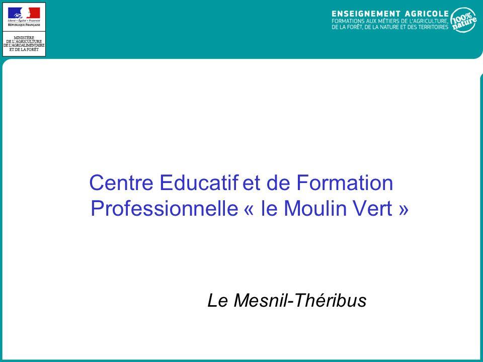 Centre Educatif et de Formation Professionnelle « le Moulin Vert » Le Mesnil-Théribus