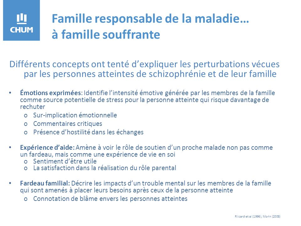 Références MSSS (2009).