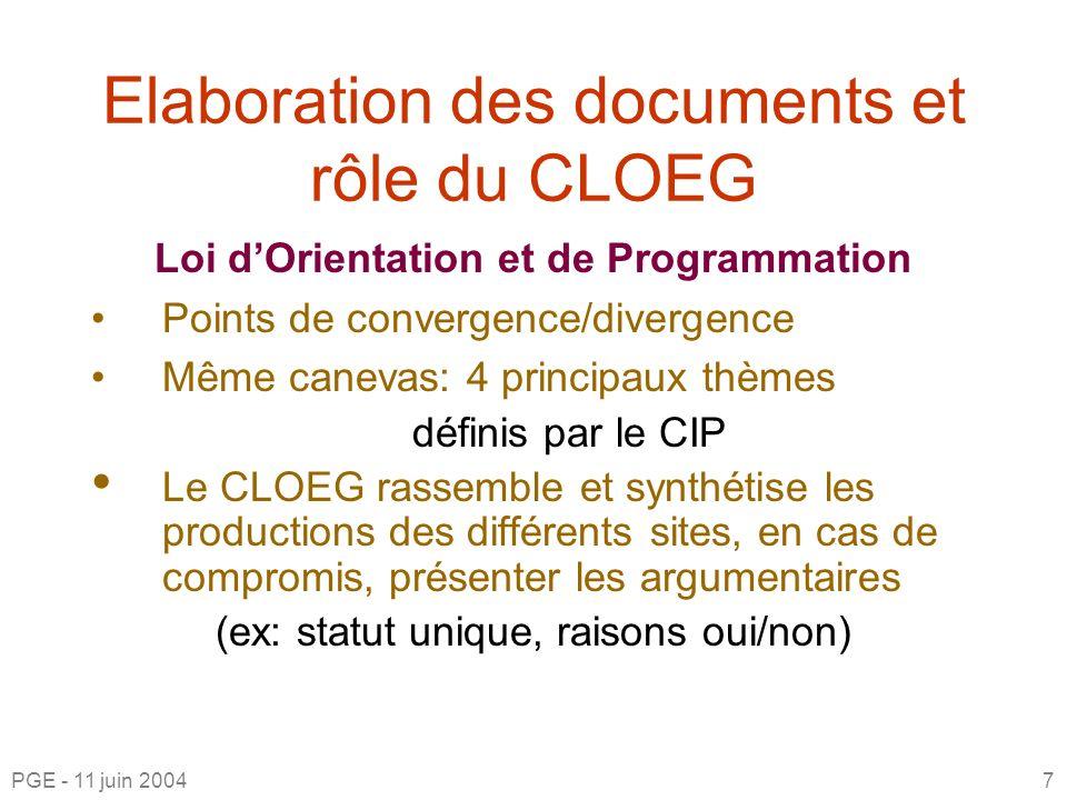 CLOEG IdF Sud Ouest http://cip-etats-generaux.apinc.org 1.