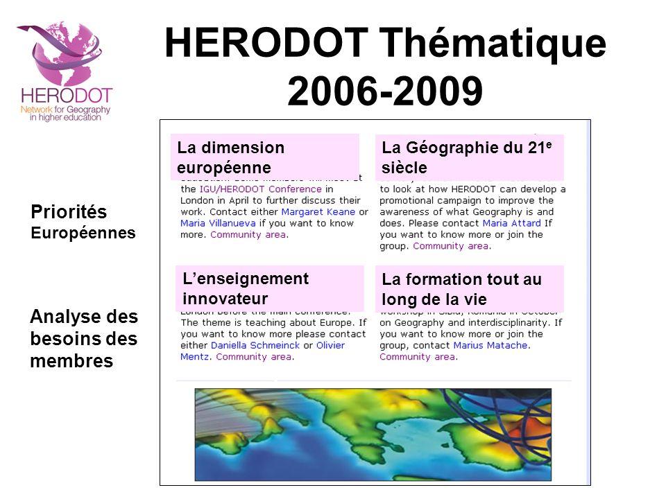 HERODOT Evénements