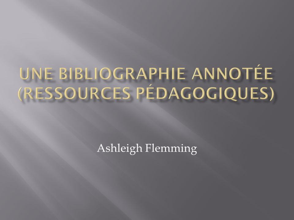 Ashleigh Flemming