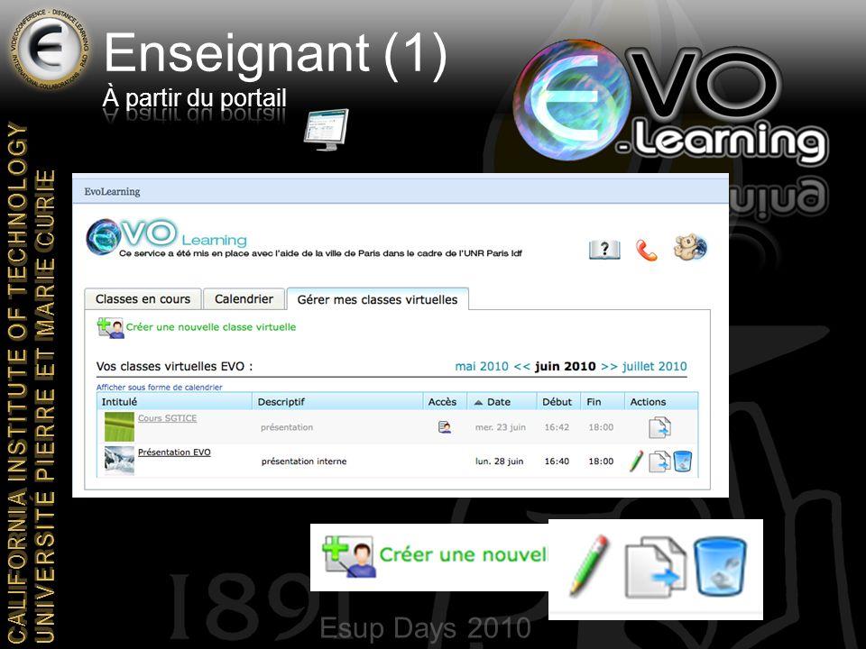 Esup Days 2010 CALIFORNIA INSTITUTE OF TECHNOLOGY UNIVERSITE PIERRE ET MARIE CURIE Merci de votre attention agnes.pruvost@upmc.fr yves.epelboin@upmc.fr