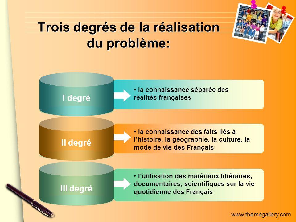 www.themegallery.com la connaissance séparée des réalités françaises la connaissance des faits liés à lhistoire, la géographie, la culture, la mode de