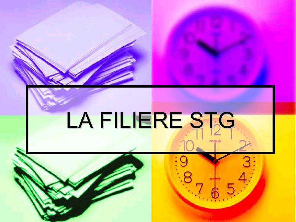 LA FILIERE STG