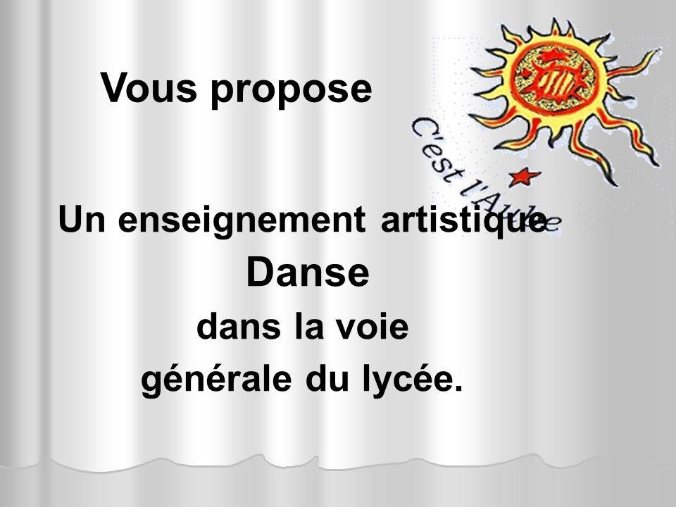 LE BAC L DANSE RESTE UN BAC GENERAL Cest un bac qui na pas pour objectif de former des danseurs de compagnies et tous les débouchés de la section L restent possibles pour les étudiants.