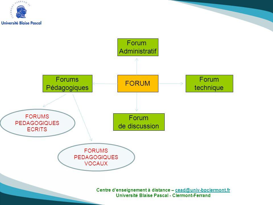 Comment faire pour que les étudiants prennent en main loutil « forum vocal » et participent sur le forum .