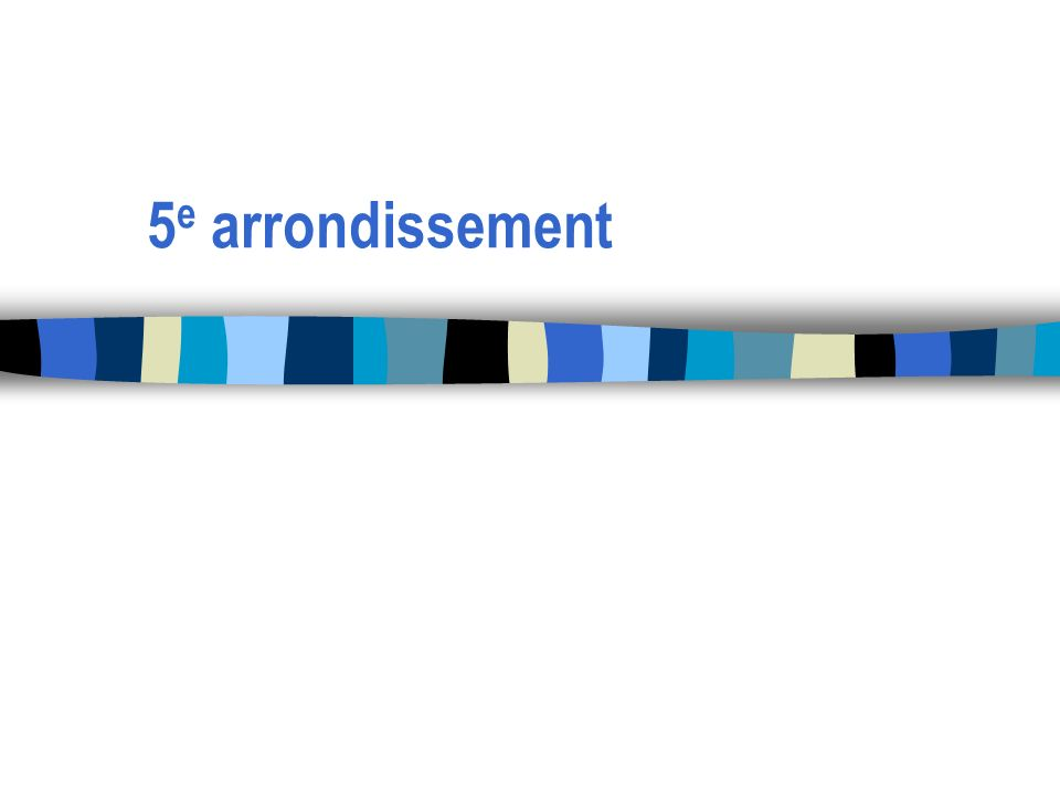 5 e arrondissement