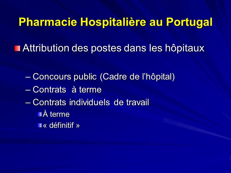 Carrière des Techniciens Supérieurs de Santé - Portugal - Carrière Pharmaceutique –Stagiaire -3 Ans –Assistant -3 Ans –Assistant Principal – 4 Ans –Assesseur - 3 Ans –Assesseur Supérieur
