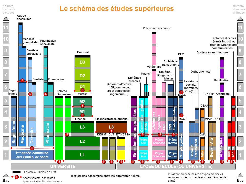 Janvier 2011 CIO Saint Amand Les Eaux 4 Luniversité (la Fac) Les Classes Préparatoires aux Grandes Ecoles (CPGE) Les écoles spécialisées