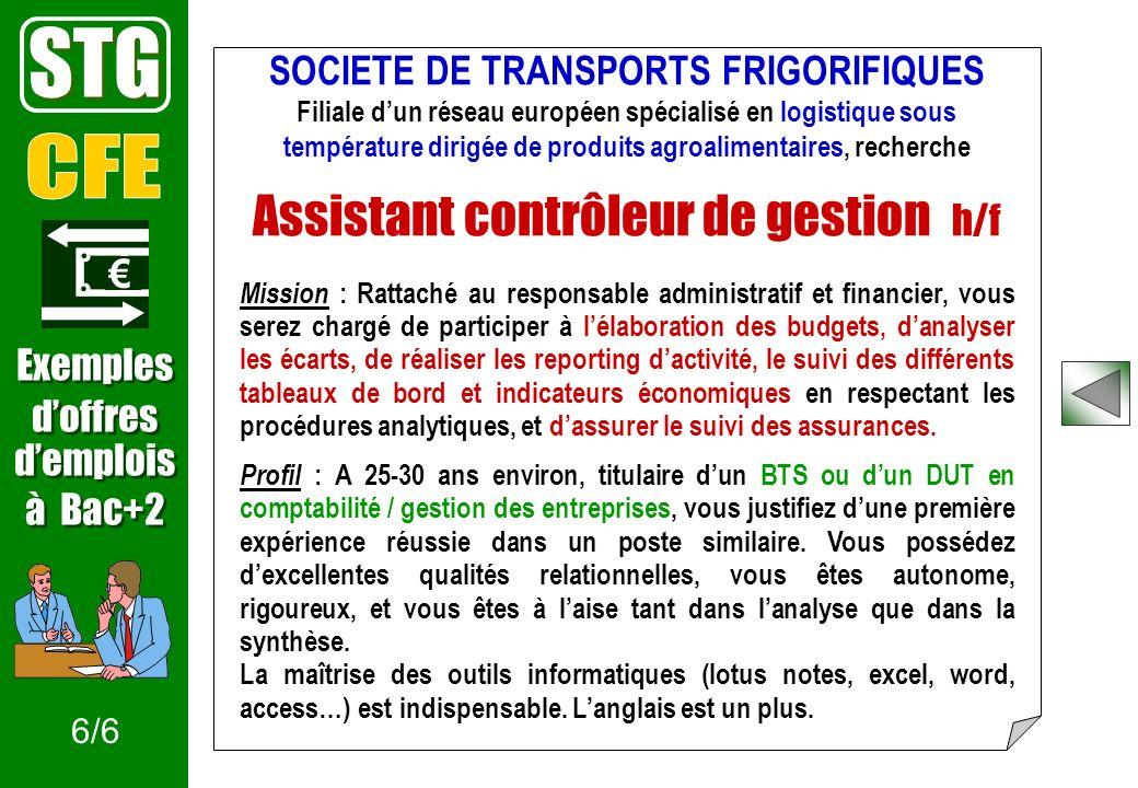 Un mini-site en lien avec la collection INFOSUP www.onisep.fr/infosup/stg Document consultable au CDI du lycée 1/5