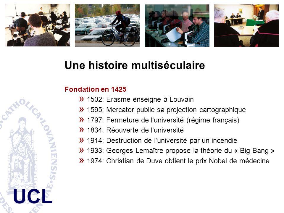 UCL Université catholique de Louvain