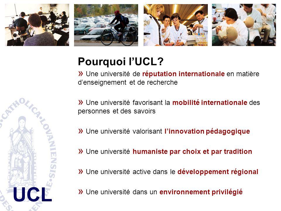 UCL Pourquoi lUCL.
