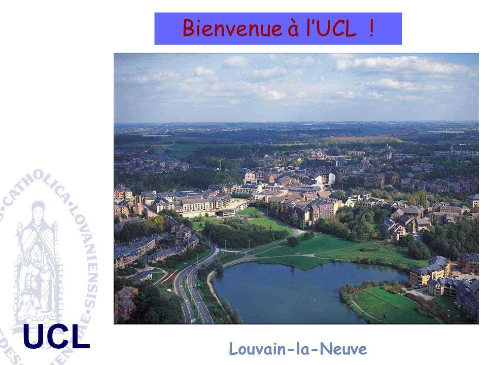 UCL Bienvenue à lUCL ! Louvain-la-Neuve (Aula Magna)