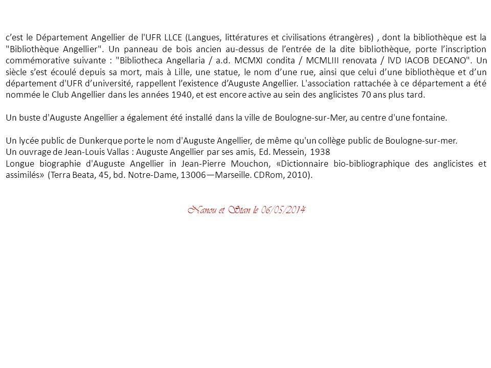 En 1881, un poste de maître de conférences, à Douai, lui ouvre une brillante carrière de professeur danglais (la faculté des Lettres de Douai va être