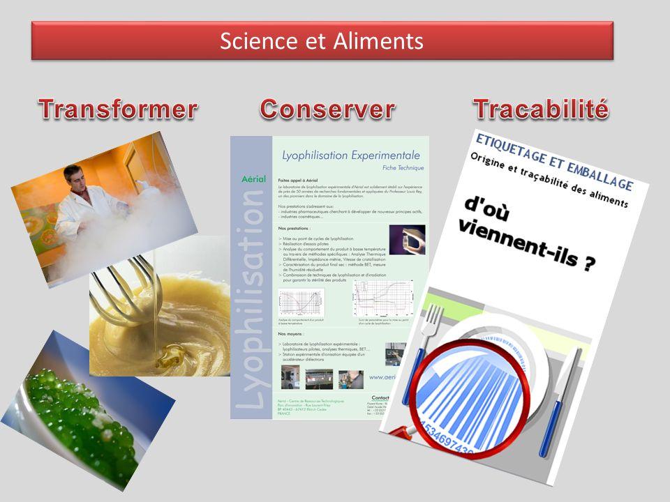 Science et Aliments