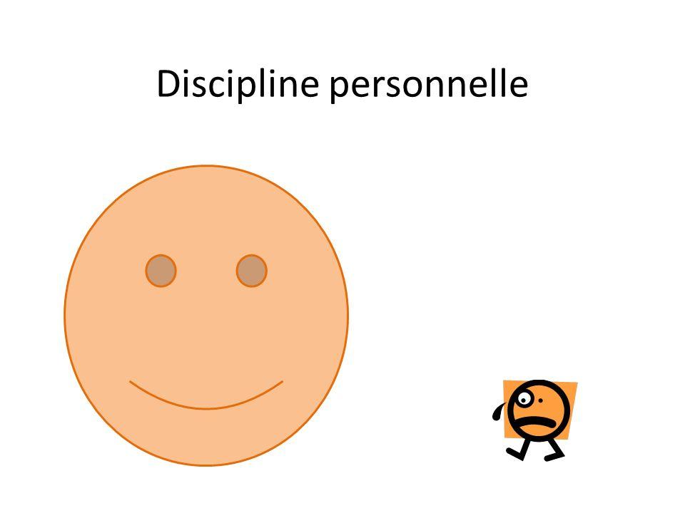 Discipline personnelle