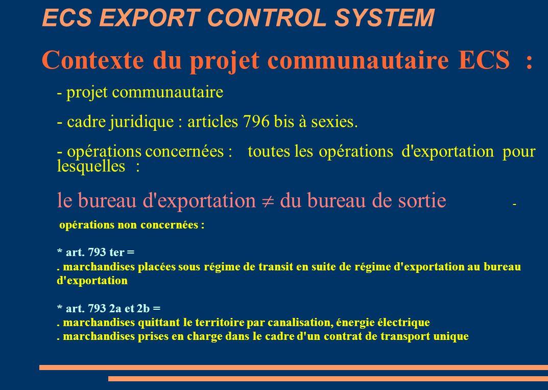 - projet communautaire - cadre juridique : articles 796 bis à sexies.