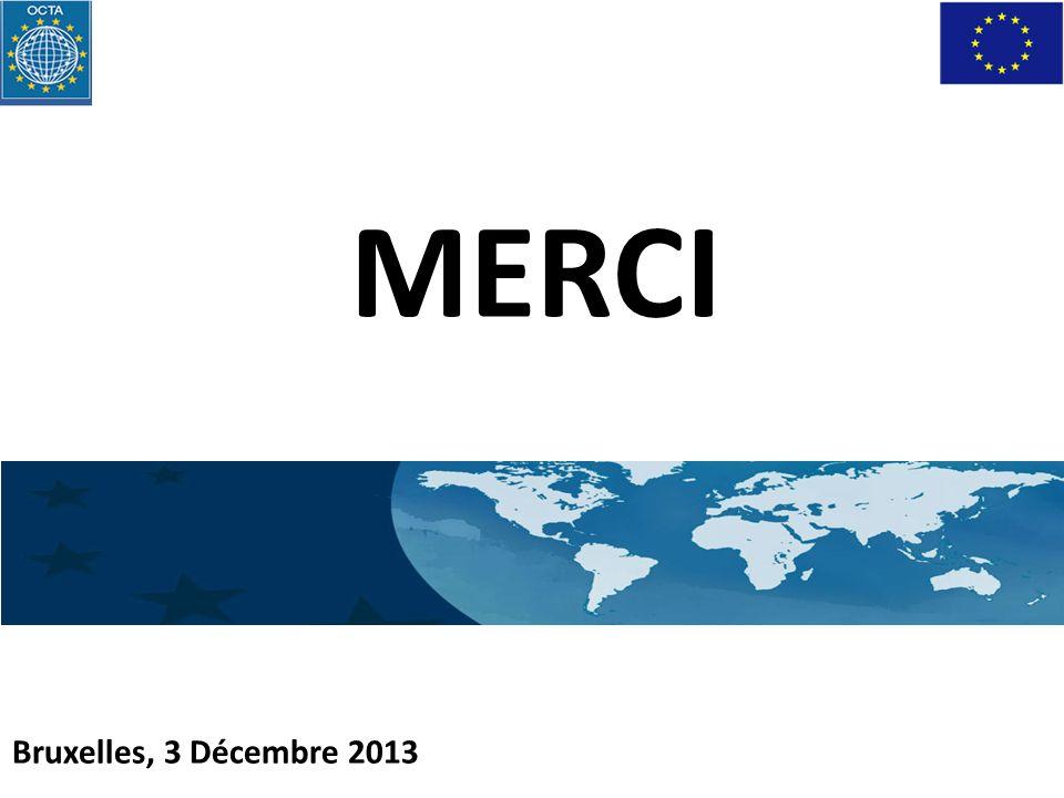 Bruxelles, 3 Décembre 2013 MERCI