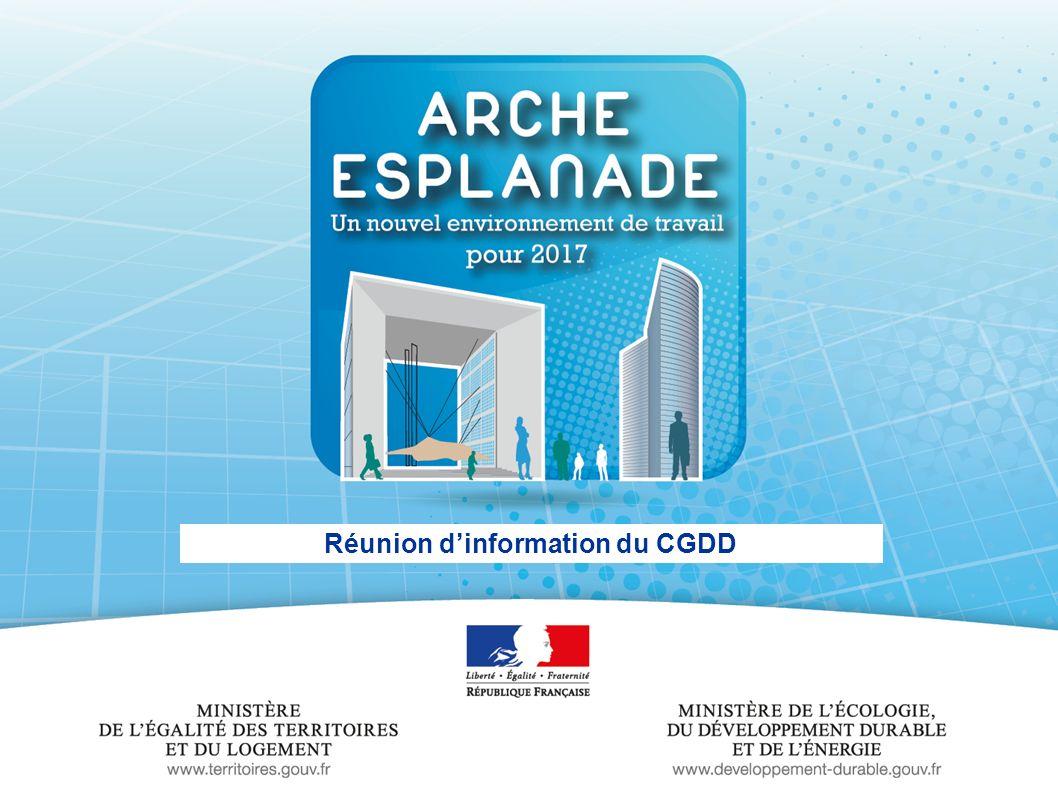 - 1 - Réunion dinformation du CGDD