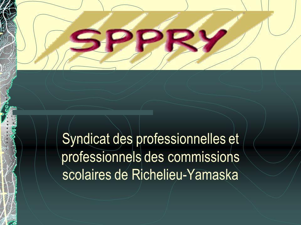 Syndicat des professionnelles et professionnels des commissions scolaires de Richelieu-Yamaska