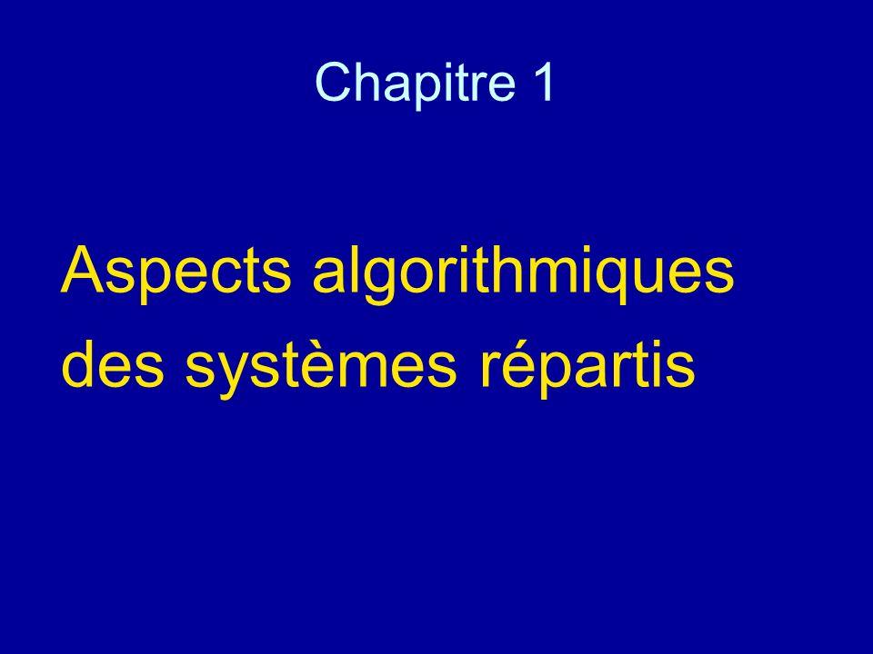Chapitre 1 Aspects algorithmiques des systèmes répartis
