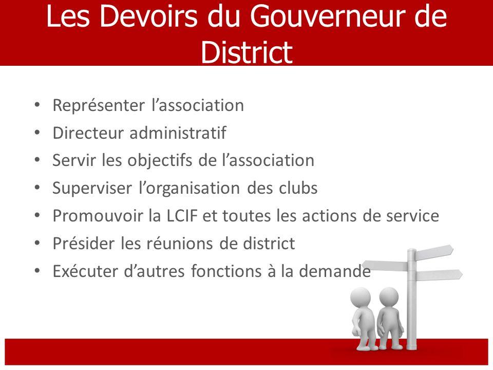 Gouverneur de District Past Gouverneur de District