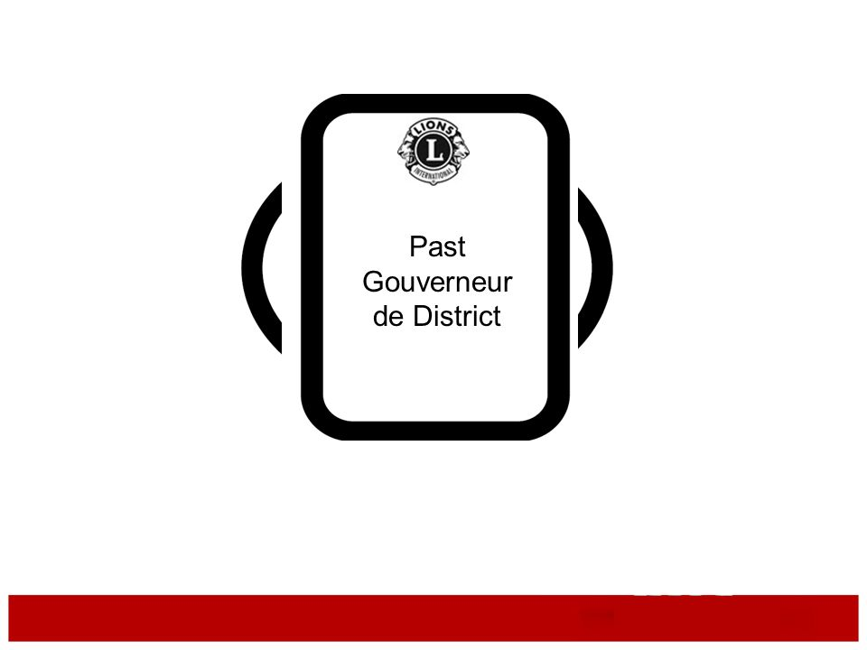 Gouverneur de District Past Gouverneur de District