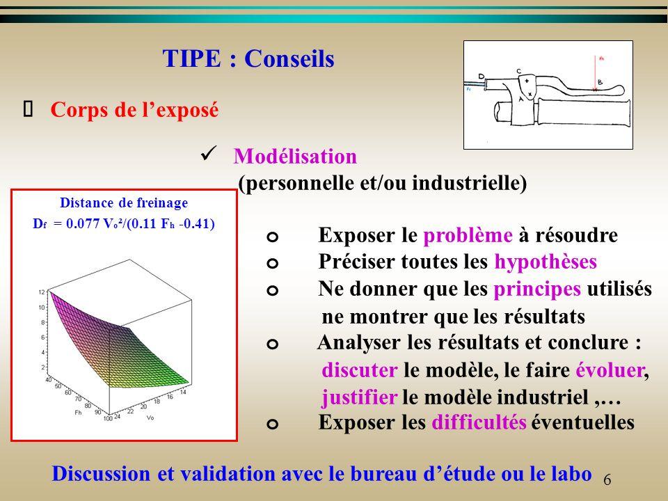 5 Létude va porter sur les points suivants : o Détermination analytique et graphique du couple de freinage (modélisation et étude statique) Déterminat