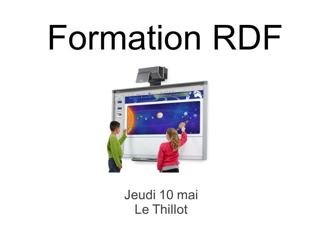 Formation RDF Jeudi 10 mai Le Thillot