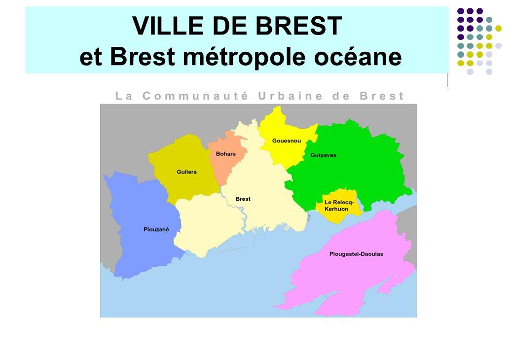 VILLE DE BREST et Brest métropole océane RESSOURCES HUMAINES et FINANCES Directeur : Patrick CHENARD