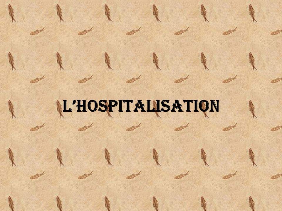 LHOSPITALISATION