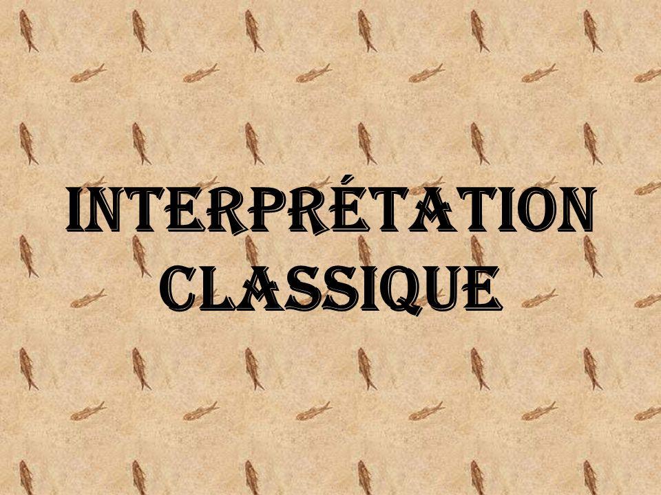 Interprétation classique