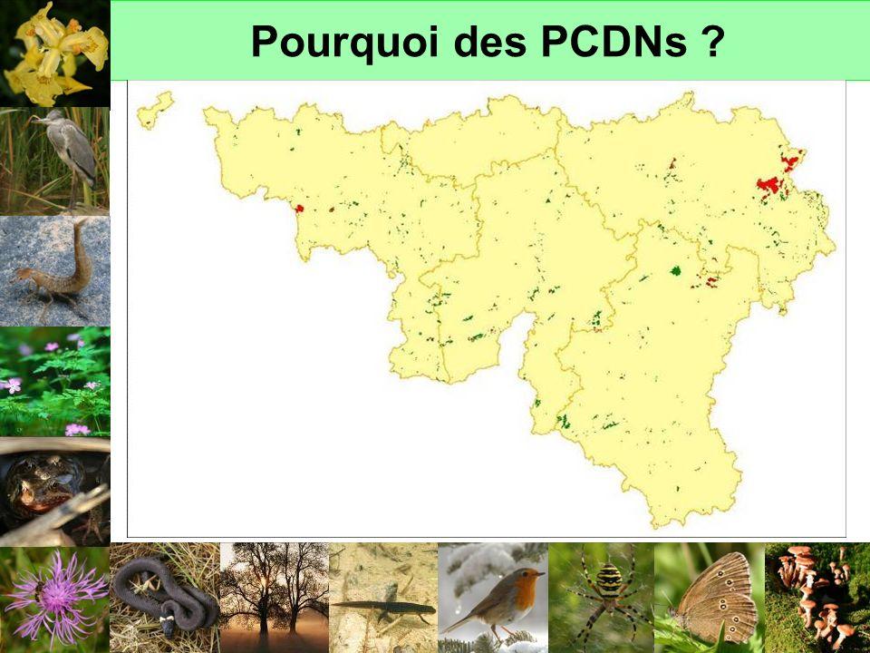 Pourquoi des PCDNs ? NATURE ORDINAIRE L ensemble du territoire, l ensemble des acteurs… Réflexe premier : mise en réserve de la nature…MAIS NATURE EXT