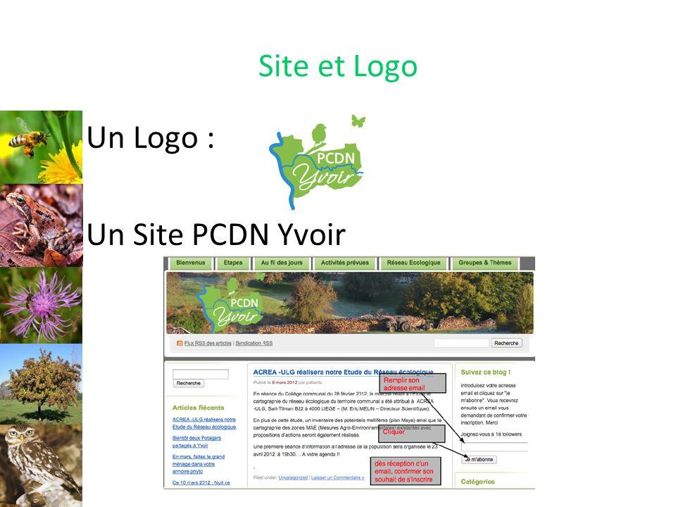 Site et Logo Un Logo : Un Site PCDN Yvoir