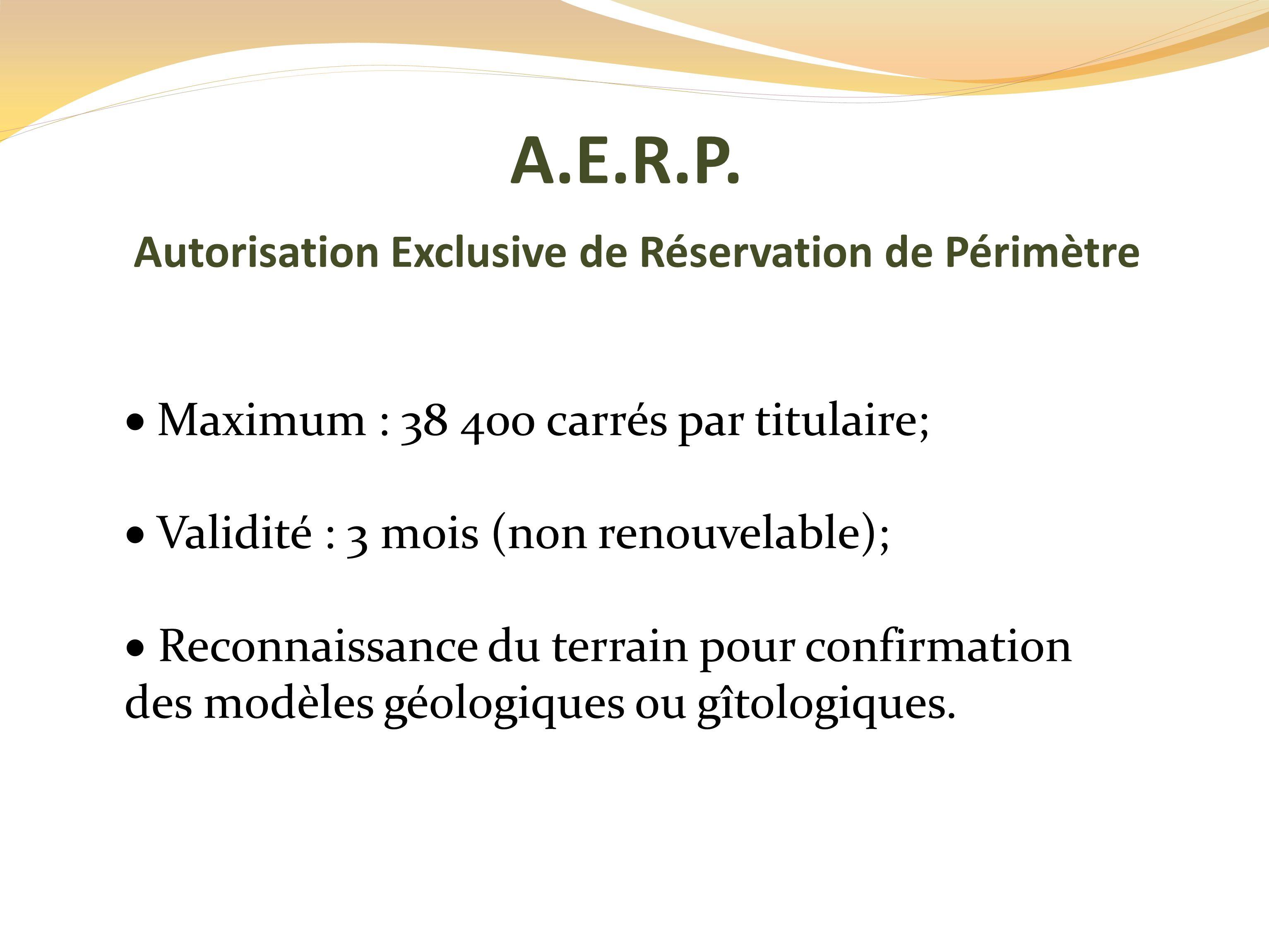 A.E.R.P.