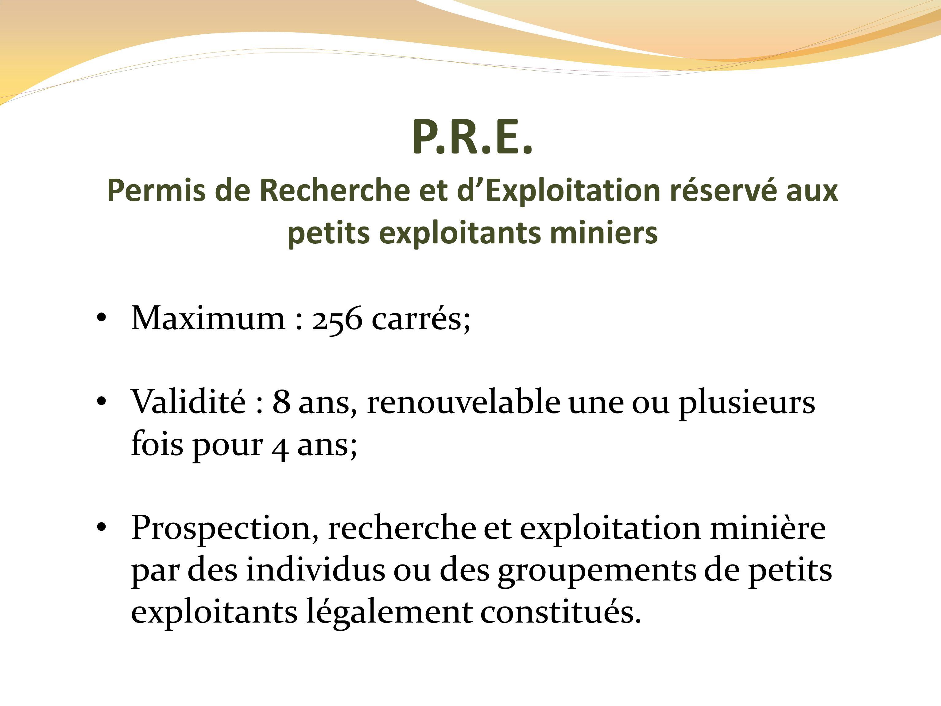 P.R.E.