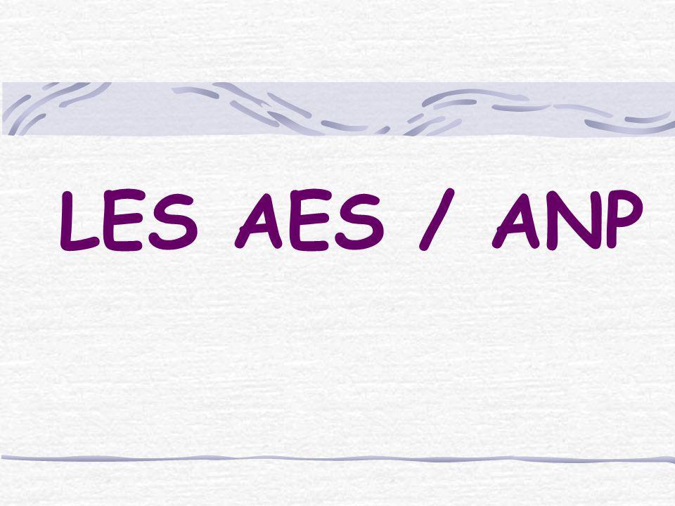 LES AES / ANP