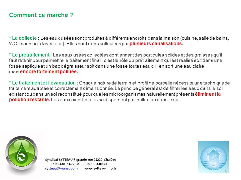 9 Syndicat SYTTEAU 7 grande rue 25220 Chalèze Tél: 03.81.63.72.98 - 06.73.93.00.41 sytteau@wanadoo.frsytteau@wanadoo.fr www.sytteau-info.fr