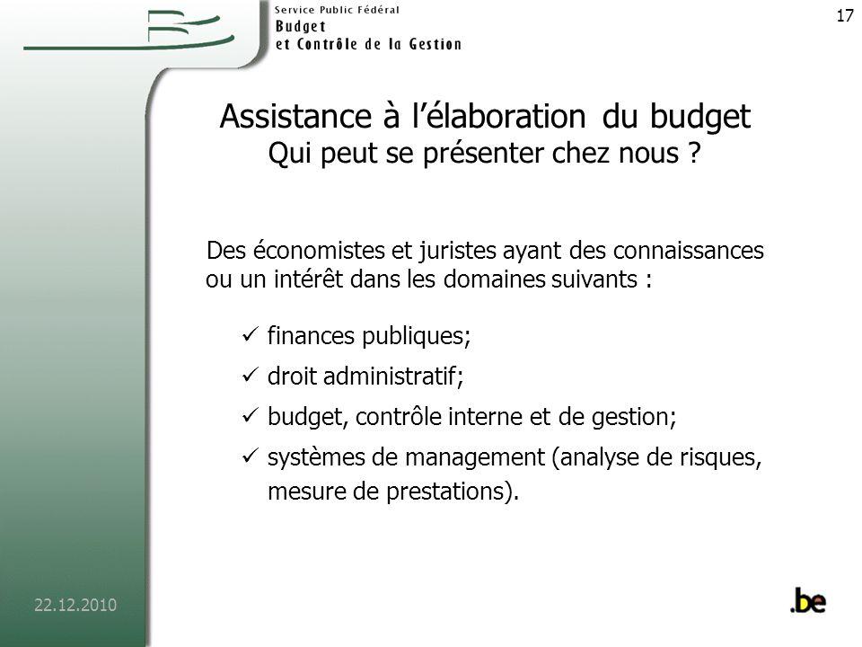 22.12.2010 18 Comptable fédéral En cours de création Le projet FEDCOM Réforme de la comptabilité de lautorité fédérale : dune comptabilité de caisse vers une comptabilité générale.