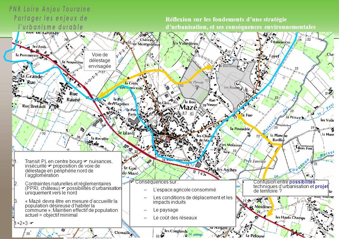 28/84 Réf.: setur ATD 04642 – Médiation Environnement Étape 3 – Mise à jour: avril 10, setur 28/30 1. Transit PL en centre bourg nuisances, insécurité