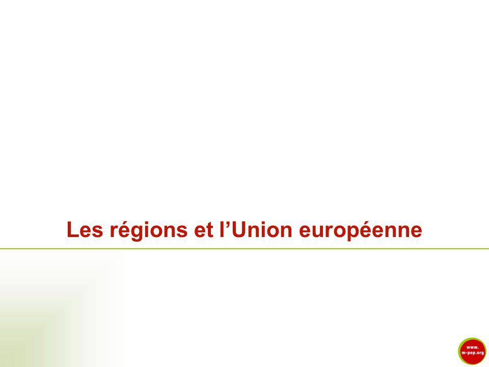 Les régions et lUnion européenne